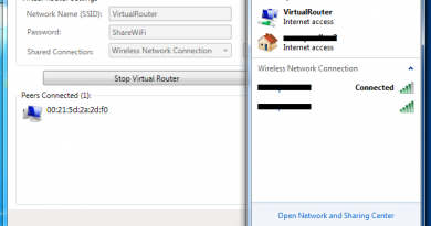 conectivity - virtual router
