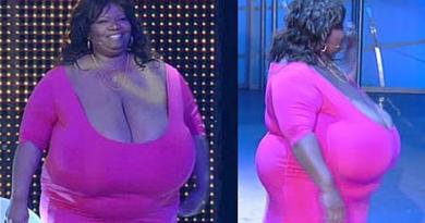 Femeia cu cei mai mari sani din lume naturali