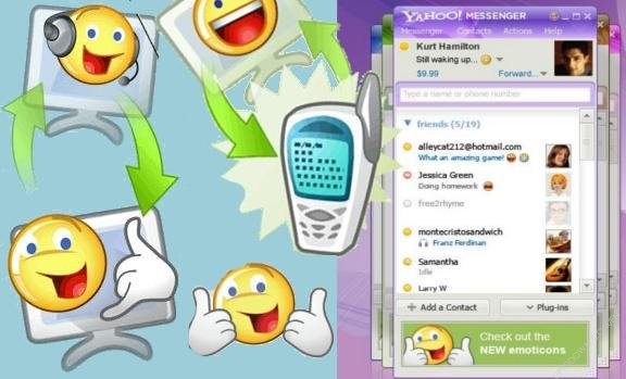 Emoticoane noi pentru Yahoo Messenger
