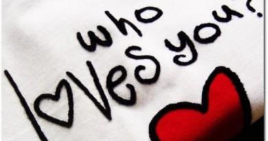 Cine te iubeste?