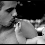 tata si bebelus