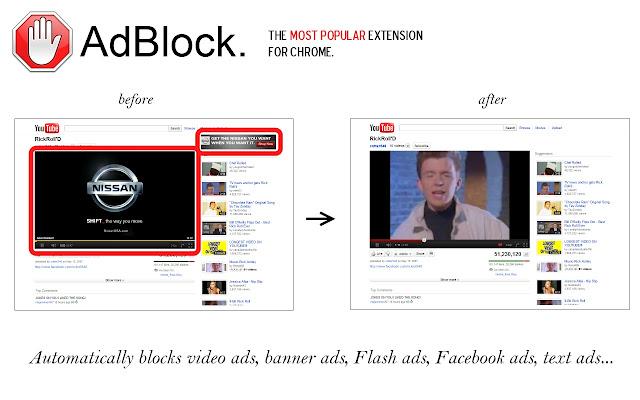 Cum se blocheaza reclamele de pe site-uri