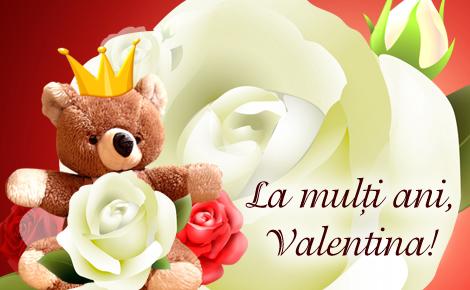la multi ani valentine's day - ziua indragostitilor