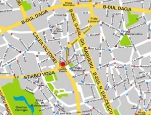 harta bucuresti online